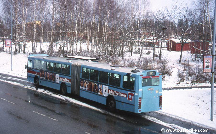 Örebro 222, route 12