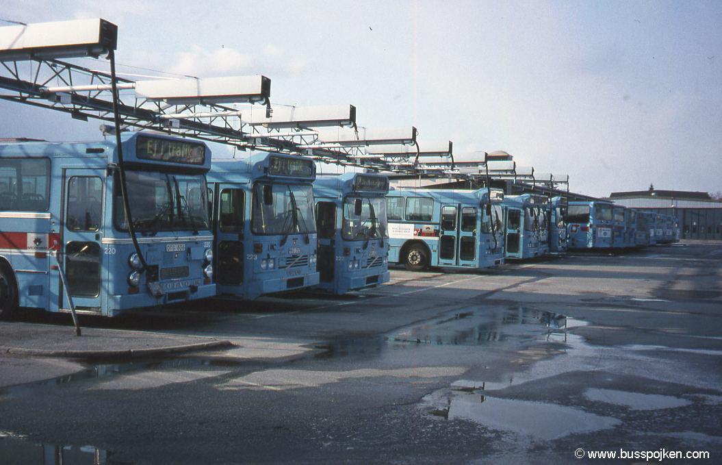 Örebro bus depot