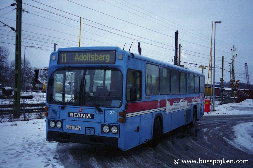 Bus by Hovsta, Örebro.