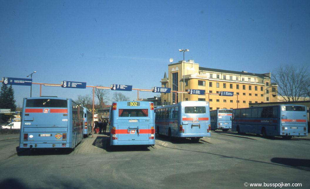 Örebro old bus station