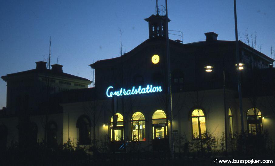 Örebro central station