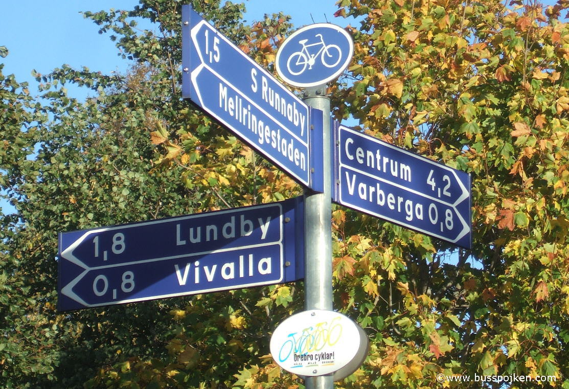 Bike city Örebro.