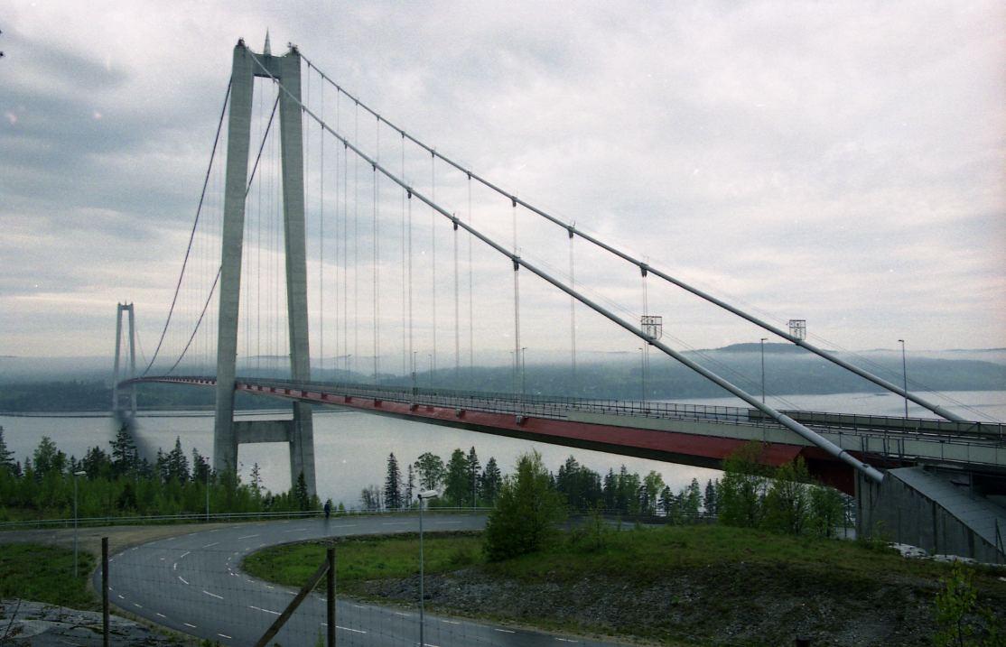 Höga kustenbron/ Vedabron.