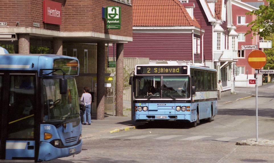 Örnsköldsvik, bussar.