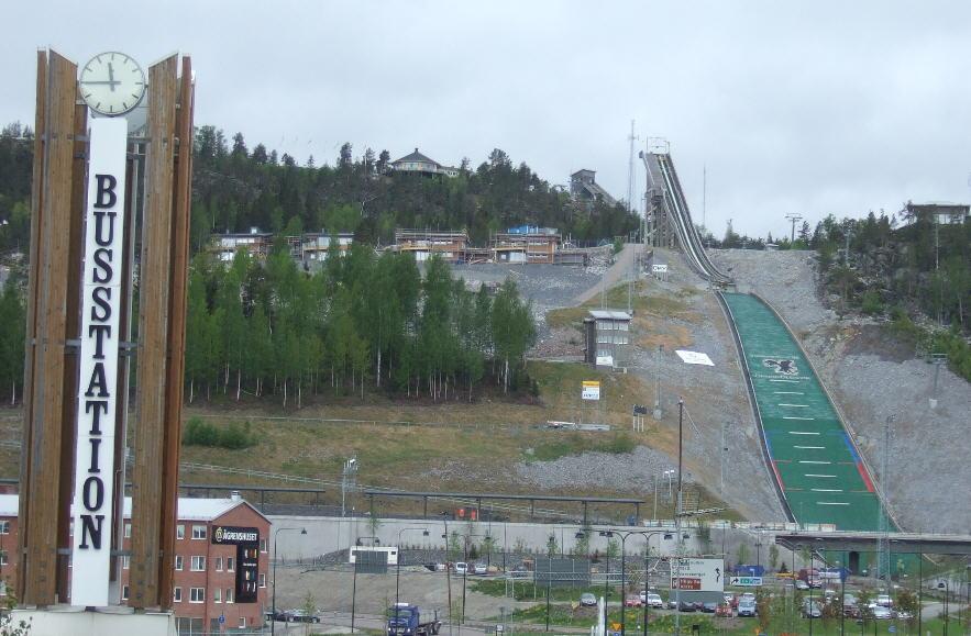 Ski jump,  Örnsköldsvik.