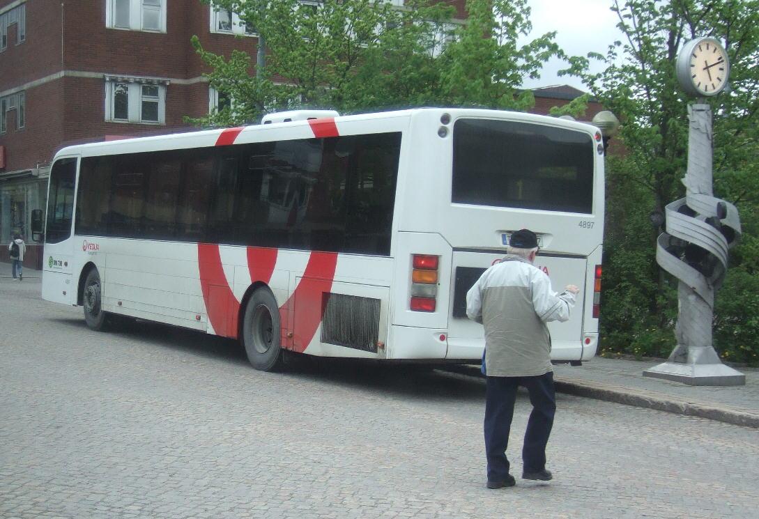 Veolia 4897, Örnsköldsvik.