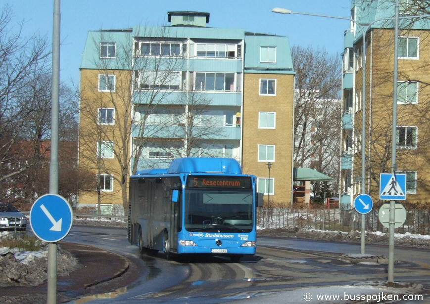 Swebus 7184 in Skövde.