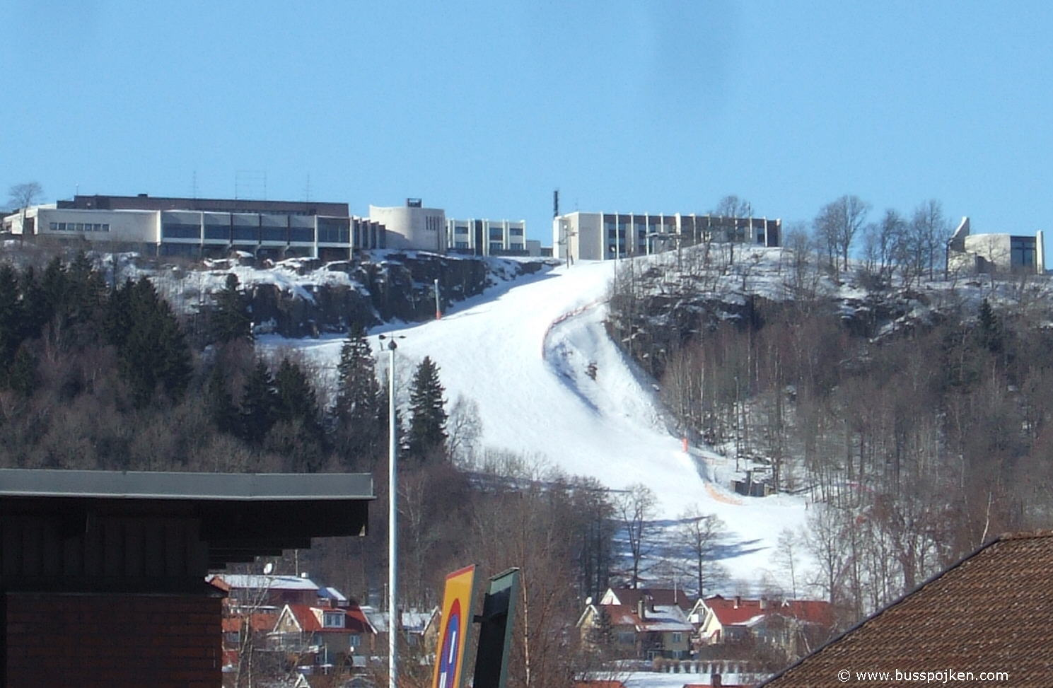Billingen skislope in Skövde.