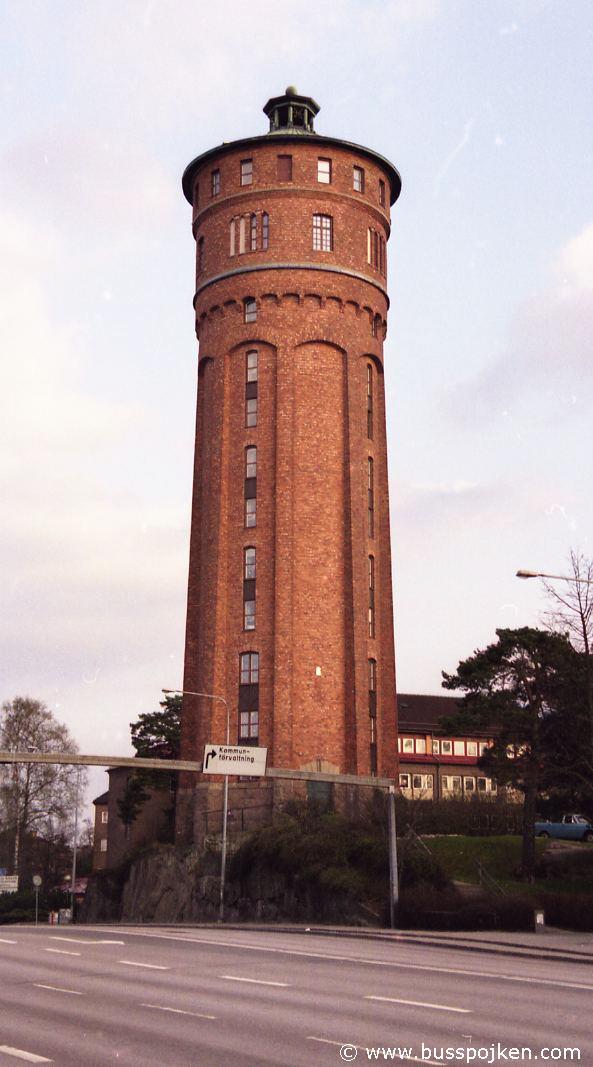 Trollhättan old water tower.