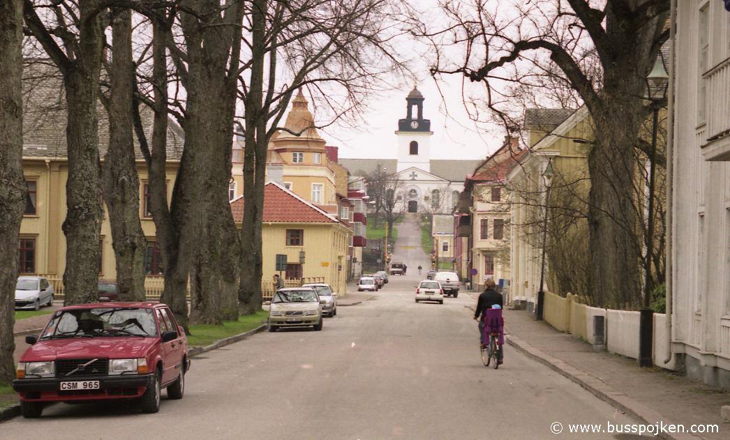 Kyrkogatan in Åmål.