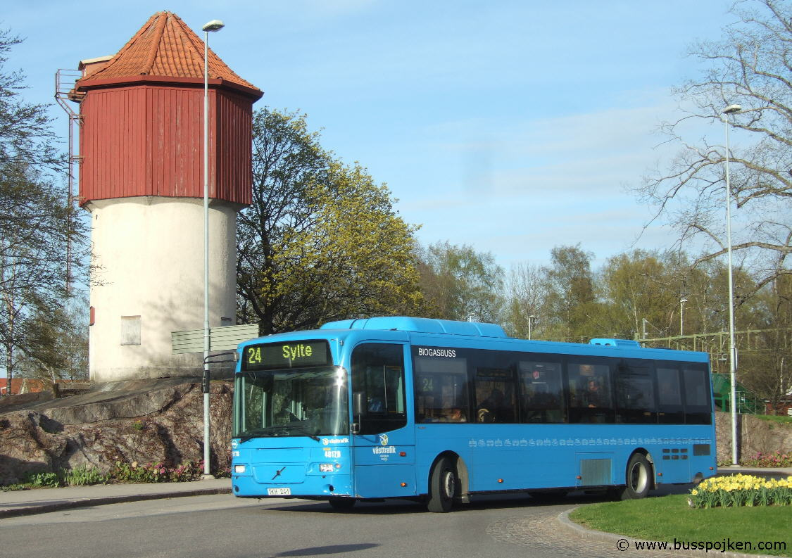 Nobina 5778-24 by Trollhättan station/ resecentrum in 2010.