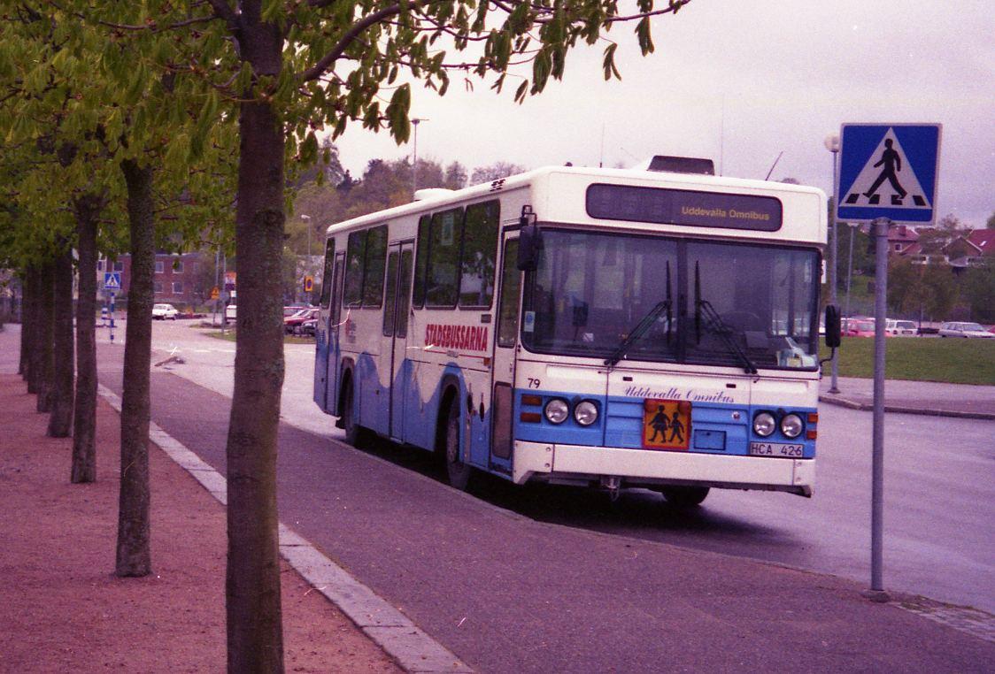 Uddevalla omnibus 79, Kampenhof in 1999.
