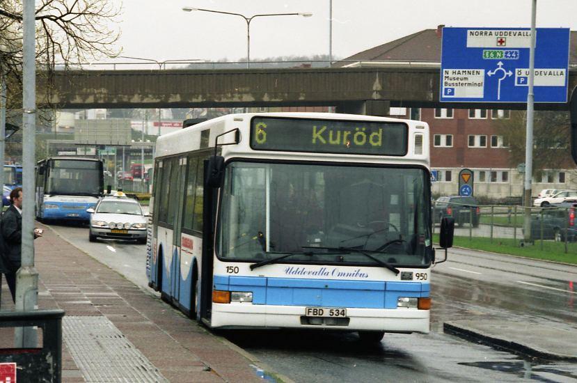 Uddevalla omnibus 150.