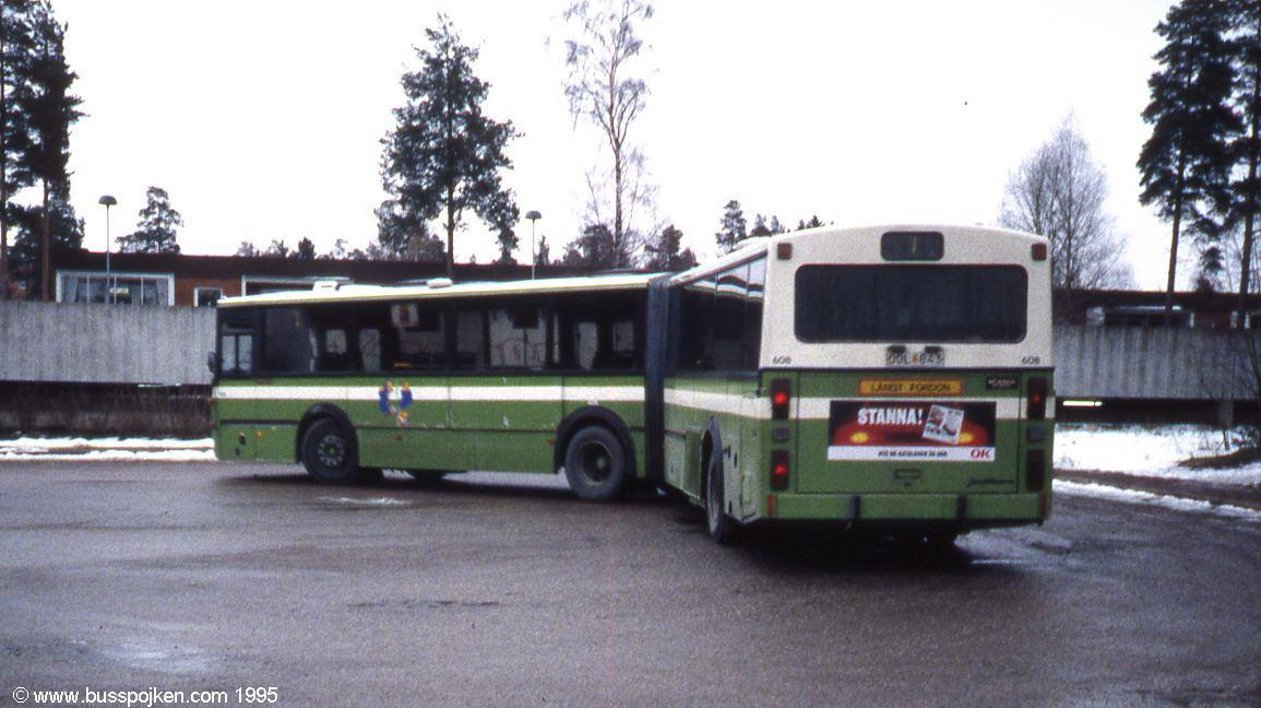 Jonckheere Scania 112, Uppsala 608