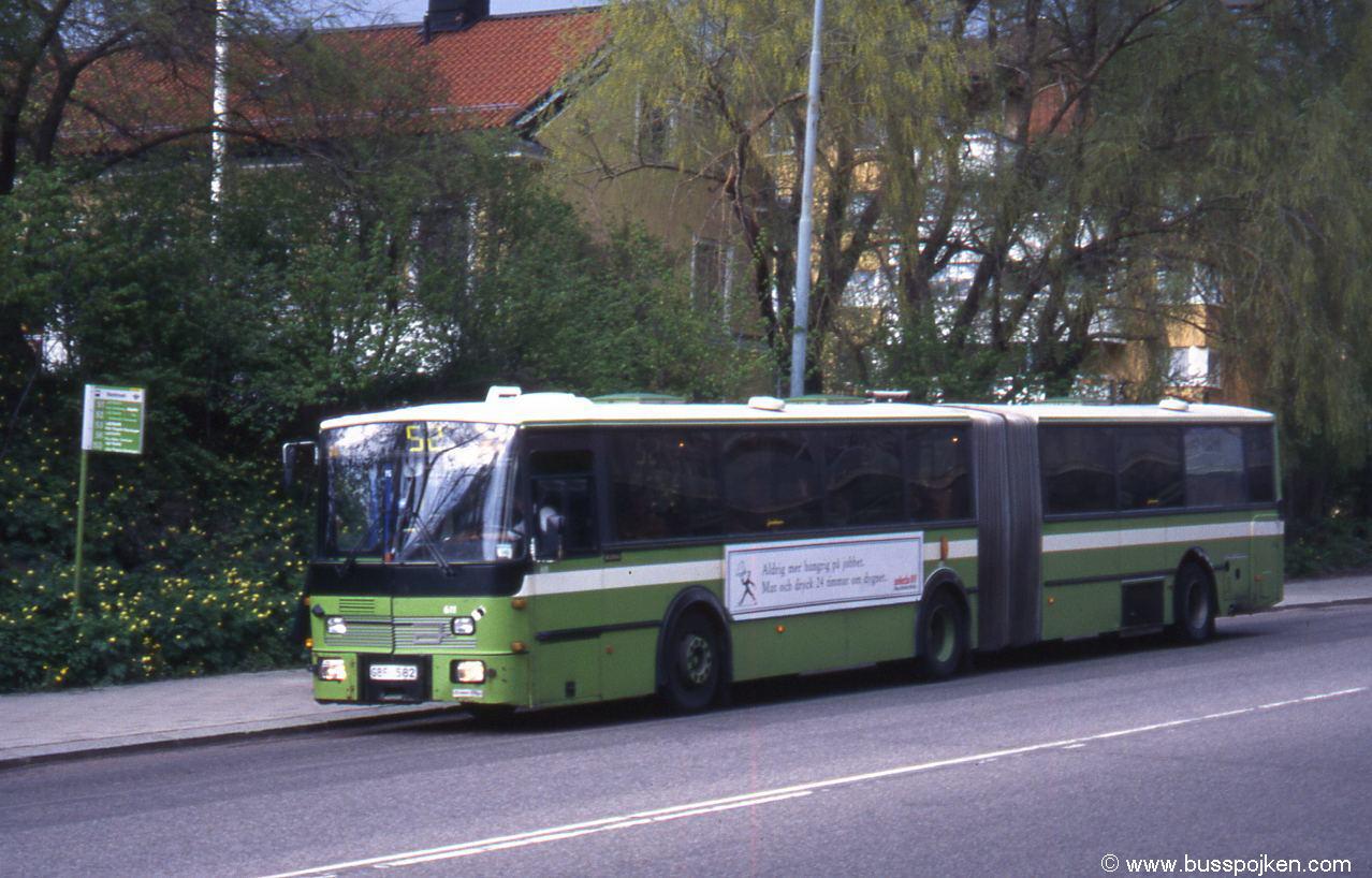 Jonckheere Scania 112, Uppsala 611